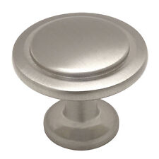 Cosmas Cabinet Hardware Satin Nickel Round Cabinet Knobs #5560SN