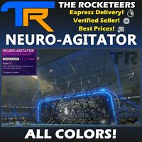 [PC STEAM]Rocket League Every Painted NEURO-AGITATOR Black Market Goal Explosion