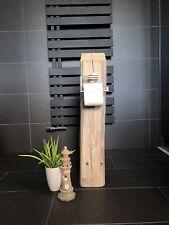 * rustikaler WC Altholz Balken - Holzbalken - Deko - Fachwerk - Bad - Shabby *