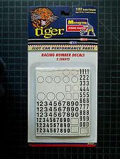 Monogram 85-5121 NUMBER DECALS SLOT CAR 1:32 ##