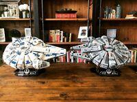 LEGO Kessel Run Millennium Falcon 75212 & LEGO 75105 Display Stand | Star Wars
