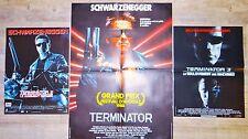 TERMINATOR 1.2.3 !  arnold schwarzenegger affiche cinema