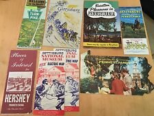 8 Pieces of Vintage Travel Material & Maps, from Pennsylvania.   6J58
