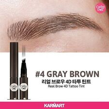 Cathy Doll Real Brow 4D Tattoo Tint Tip Magic Pen Eyebrow Quick Dry Gray Brown