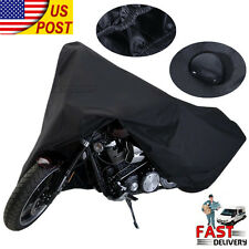 XXXL Waterproof Motorcycle Cover For Harley Davidson Touring Road King FLHR US