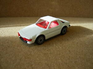 CORGI JUNIORS FIAT X19 FINISHED IN WHITE UN-BOXED
