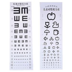 Wallmounted Waterproof Eye Chart TestingCahrt Visual TestingChart forHospital.db