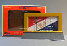 LIONEL MILLER BEER ANIMATED BILLBOARD PLUG-Expand-PLAY train accessory 6-83438