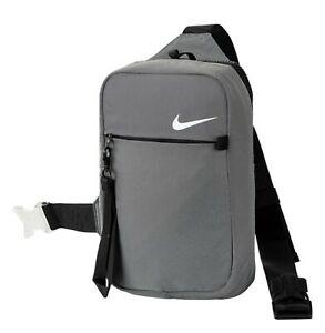 Nike Unisex NSW Essentials Item Bags Gray Organizer Run GYM Body-Bag CV1060-010