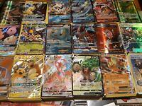 Pokemon Card LOT 100 OFFICIAL TCG Cards 5 HOLO/ 5 REV 1 GX EX MEGA RARE V ULTRA