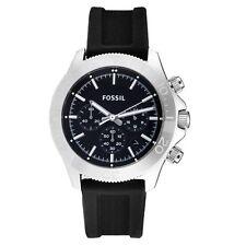Fossil Men's Retro Traveler Silicone Watch - Black #CH2851