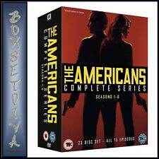 THE AMERICANS -  COMPLETE SERIES SEASONS 1 2 3 4 5 & 6  *BRAND NEW DVD BOXSET***