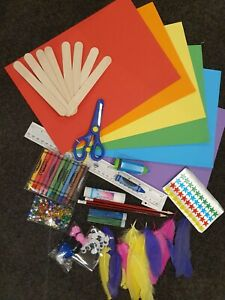 Art and Craft Kit Bundle, Kids Activities Supplies Assorted. Get creative!