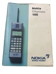 Nokia Cityman 100 User Manual Guide Frim 1989/90