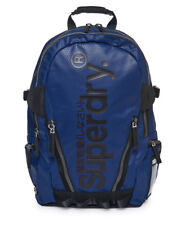 Superdry M91006JR/11S Mens Silver Tarp Polyester Carry Bag Backpacks Navy