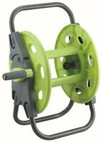 45M GREAT VALUE GARDEN HOSE REEL WITH QUICK RELEASE CONNECTION