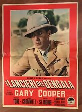 FOTOBUSTA,1957,I lancieri del Bengala The Lives of a Bengal Lancer,GARY COOPER
