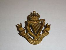 British Army Military Cap/Hat Badge - Connaught Rangers (Kings crown) ref 2