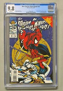MARC SPECTOR Moon Knight #57 Marvel  1993 CGC 9.8 Spider-Man #301 Cover Homage