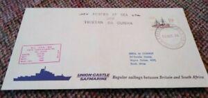 Tristan Da Cunha Cover Posted off Tristan Da Cuhna On the MV RSA 1976