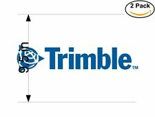 Trimble 2 2 Stickers 9.5 inches Sticker Decal