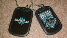 NEW! WWE The Shield Dog Tags Roman Reigns Seth Rollins Ambrose Halloween Cosplay