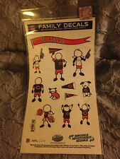 Chicago Bears NFL - Medium Family Decals - 12 Total - 1 Sheet