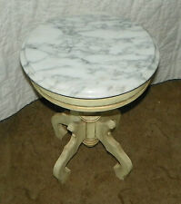 Kimball Marble Plant Stand / Side Table  (PS124)