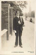 London Life style. A London Postman by Samuels Ltd., Strand.