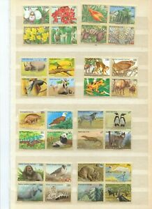 Collection Of Topicals wildlife never hinged blocks four all un s-99