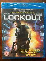 Lock-Out Blu-Ray 2011 Azione Fantascienza Film W / Guy Pearce Bnib