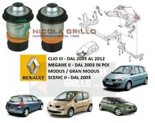 KIT 2 SILENT BLOCK CULLA PONTE RENAULT CLIO III / MEGANE II / SCENIC II / MODUS