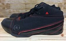 Dwayne Wade Converse All Star 305 1.3 Black/Red Suede and Leather size 13 1Z401