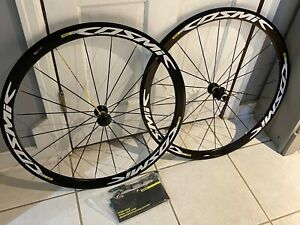 NEW ~~ Mavic Cosmic Super Elite 700c Wheelset w/ Skewers & Paper Work