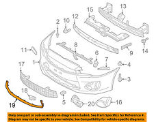 MITSUBISHI OEM Lancer Front Bumper Grille Grill-Lower Molding Trim 6402A402