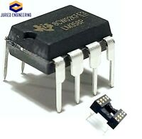 5PCS LM358P LM358 Dual Operational Amplifier and Machined Sockets DIP-8 IC