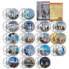 * COMPLETE SET * WTC Anniversary 9/11 US MINT NEW YORK STATE Quarter 17-Coin Set