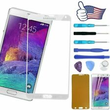 For Samsung Galaxy Note 4 Front Screen Touch Glass Lens Replacement Tools Kits