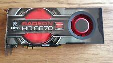 XFX AMD Radeon HD 6870 1GB GDDR5 Graphics Card - (HD-687A-ZNFC)