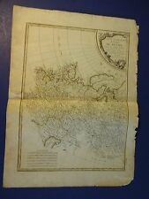 Nice,Colored Map /Western Part of the Russian Emp.- Rigobert Bonne 1771