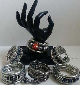 FASHION BRACELETS WRAP AROUND BEADED ASSORTED STYLES  /DESIGNS AVAILABLE NEW