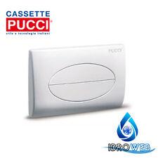 Placca Scarico Pucci per Cassetta SARA Bianca 80006910 pucci 6910