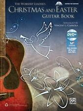The Worship Leader's Christmas and Easter Guitar Book: Guitar TAB (Book & MP3 CD