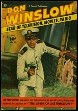 Don Winslow of the Navy #69 1952- Fawcett golden age photo cover FN
