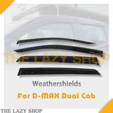 Weathershields Weather shields for D-MAX Dual Cab 12-20 USE FOR LOGO Sun Visor