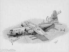 "C-130E Hercules ""Going Home"" Aeromedical Evacuation Giclee Print by Willie Jones"