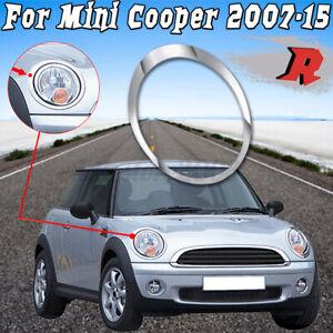 Right Side Chrome Headlight Trim Ring For Mini Cooper 2007-2015 OEM: