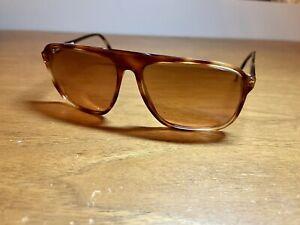 RARE Vintage Serengeti Gradient Sunglasses Drivers 5268L Corning Optics Tortoise