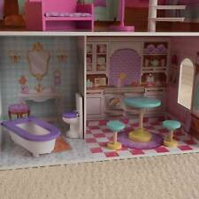 KidKraft Penelope Wooden Pretend Play Dollhouse Mansion w/ Furniture (Used)