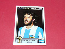 104 VILLA 1978 ARGENTINA 78 FOOTBALL PANINI WORLD CUP STORY 1990 SONRIC'S